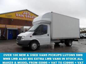 LUTON VAN T350 LWB 2.4 140 BHP LONG WHEEL BASE LUTON + TAILIFT