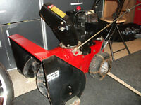 Noma 5Hp 23 inch Snowblower $225