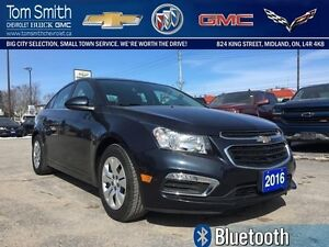 2016 Chevrolet Cruze Limited LT   - Certified - BLUETOOTH