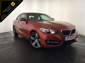 2015 BMW 220D SPORT DIESEL COUPE 1 OWNER SERVICE HISTORY FINANCE PX WELCOME