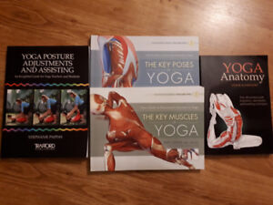 4 Yoga Books - Perfect for Teachers or Students of Yoga