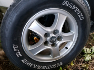 2 Tires and rims  P225/70/16