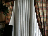 Retractable and swivel Track roller solid Panel Blinds