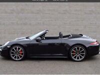 Porsche Convertible C4S