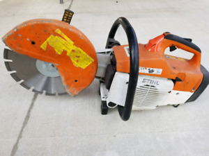 "12"" STIHL TS400 CONCRETE SAW"