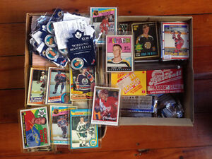 Lot of sports cards with Bobby Orr 2nd year all-star