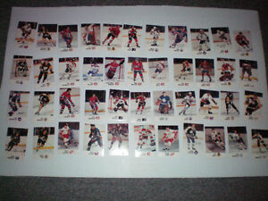 carte de hockey  de la collection ESSO