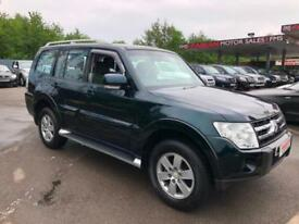 2007 07 Mitsubishi Shogun 3.2DI-DC LWB Equippe 5 DOOR MANUAL ONLY 62000 MILES