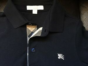 Authentic Burberry long sleeve polo shirt