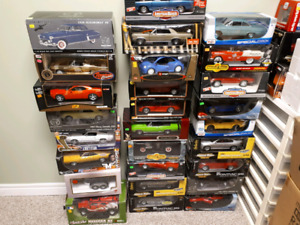 Assorted 1:18 Diecast American Muscle, Maisto, Highway 61 etc.