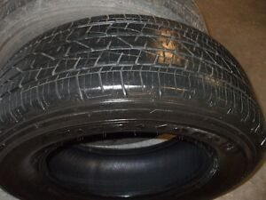 set of 4 tires for sale 265/65/17