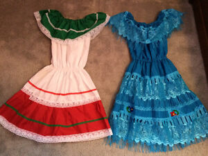 Dresses from Mexico