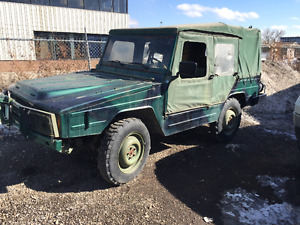1985 Iltis Army Jeep