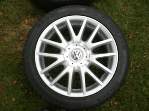 VW factory 17 inch alloy rims