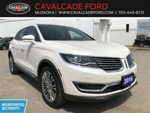 2016 Lincoln MKX Reserve with technology pkg, 360 camera!!