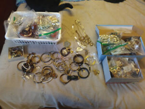costume jewelry lot... over 200 pieces!