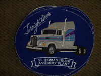 Freightliner Semi Truck patches