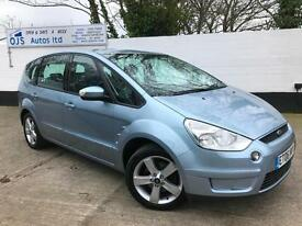 Ford 2006 S-MAX Zetec 1.8 TDCi Diesel Manual MPV 7 Seater in Blue