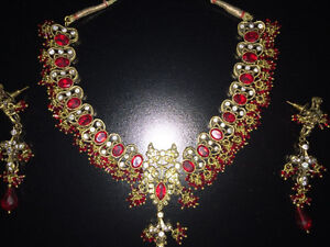 Indian  Bollywood Jewellery - Necklace set