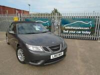 2010 SAAB 9-3 CONVERTIBLE DIESEL AUTOMATIC FULL SERVICE HISTORY