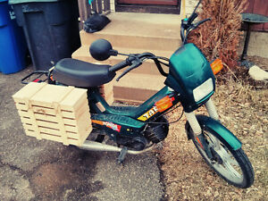 STOLEN - Tomos Targa Moped/Scooter, Dark Green with Mods!