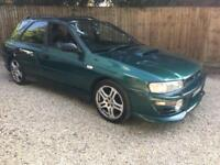 1998 Subaru Impreza 2.0 Turbo estate 67000 Miles FSH BARGAIN MODIFIED
