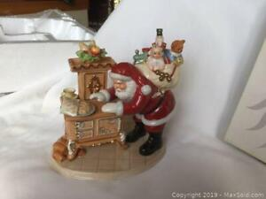 Royal Doulton Figurine Cookies For Santa