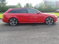 Audi A4 Avant 2.0TDIe ( 136ps ) Black Edition red 2011