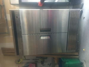 "Coldco 54.5"" 2 Door Commercial freezer"