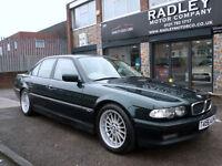 1999 BMW 728 2.8 ( 193bhp ) Auto i 4DR T REG 4DR Petrol Green