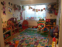 home daycare 7,55$ - 18 months - 4 years
