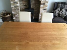 Next dinning table and 6 chairs