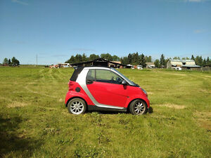 2010 Smart Fortwo Red / Silver Convertible PRICED TO SELL