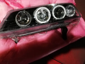 HONDA ACCORD LED Headlight upgrade by Spec D 1994 - 1997