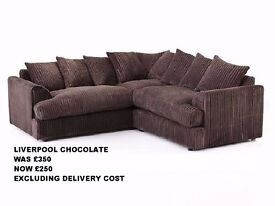 BRAND NEW 3 SOFAS ON HALF PRICE SALE £250 (EXCLUDING DELIVERY COST)