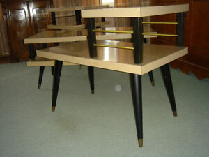 Vintage 50's 60's Arborite Coffee and End Tables London Ontario image 8