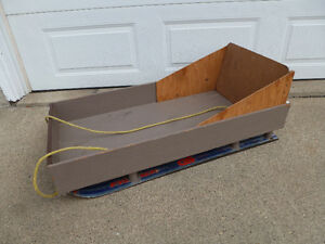 Solid Sled for Ice Fishing / Hunting / FUN!