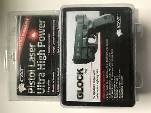 Glock front rail red dot