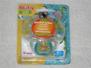 ORTHODONTIC PACIFIERS (NUBY) - CHECK IT OUT! **SPECIAL SALE**