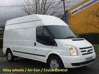 2013/ 13 Ford Transit 350 TDCi 125 [ Limited ] High Roof Van Fwd #