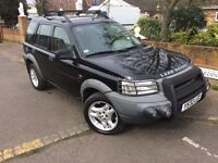 LEFT HAND DRIVE Land Rover Freelander Automatic v6 LHD not Honda Jeep Toyota Nissa