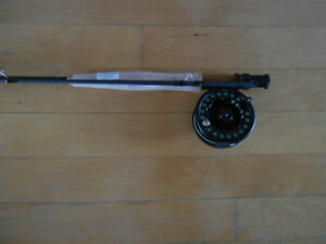 Canne moulinet a mouche,Neuf, New Fly fishing rod and reel