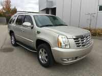 2007 CADILLAC ESCALADE BEIGE ON BLACK NAVIGATION BACK UP CAMERA