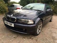 BMW 320 i SPORT 2171CC PETROL MANUAL SPARES OR REPAIR