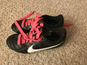 Size 3 Nike Soccer Cleats