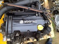 Corsa c / d 1.2 twinport z12xep 50k complete good strong engine 07594145438