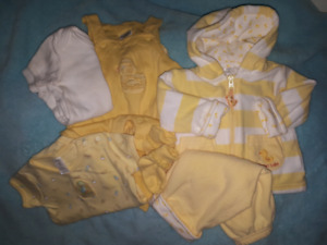 Baby Boy Easter Spring Carter's Duckie Clothing Lot Size 3/6mts