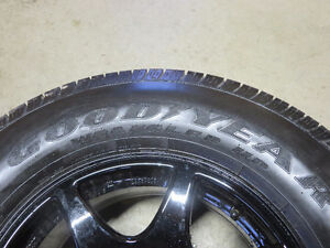 1 Unused Goodyear HP on alloy rim
