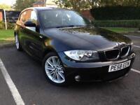 BMW 118 2.0TD ( Dynamic pk ) 2009MY d SE Black M Sport Diesel