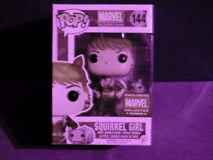 Funko Pop! Marvel Collector Corps Exclusive - Squirrel Girl #144